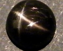 SIX STAR  BLACK DIOPSIDE STONE  2.45 CTS  ST766