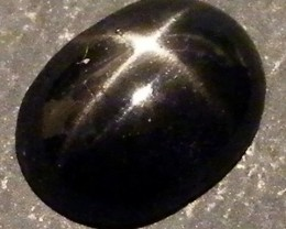 SIX STAR  BLACK DIOPSIDE STONE  2.20 CTS  ST772