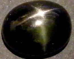 SIX STAR  BLACK DIOPSIDE STONE 3.05 CTS  ST778