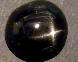 SIX STAR  BLACK DIOPSIDE STONE  3 CTS  ST779
