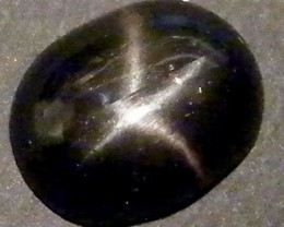 SIX STAR  BLACK DIOPSIDE STONE 2.05  CTS  ST782