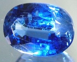 ROYAL BLUE KYANITE STONE FACETED -INDIA1.62  CTS [S5088 ]