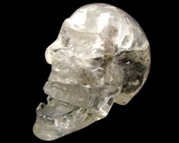 QUARTZ SKULL CARVING   1.7 KILOS  AAT1365