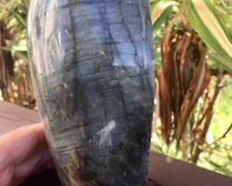 BEAUTIFUL LABRADORITE SPECIMEN FROM MADAGASCAR 56OZ A964 OA