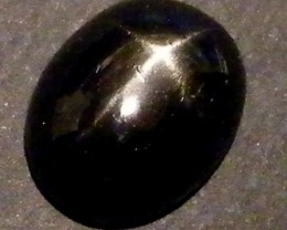 SIX STAR  BLACK DIOPSIDE STONE 2.40  CTS  ST793