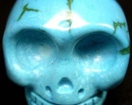 COOL TURQUOISE SKULL  69.75    CTS [G15   ]