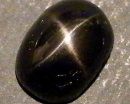 SIX STAR  BLACK DIOPSIDE STONE  3.1 CTS  ST800