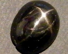 SIX STAR  BLACK DIOPSIDE STONE 2.65  CTS  ST 829