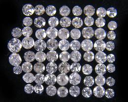 1/2 CARAT  PARCEL ONE POINTER DIAMONDS   OP1396