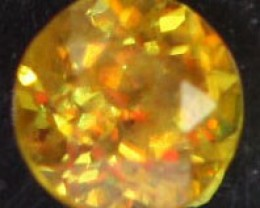 VVS SPARKLING COLOURFUL SPHENE .24 CTS [S5155   ]