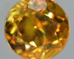 VVS SPARKLING COLOURFUL SPHENE .32  CTS [S5142   ]