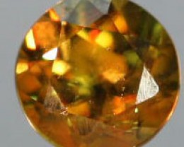 VVS SPARKLING COLOURFUL SPHENE .24 CTS [S5143   ]
