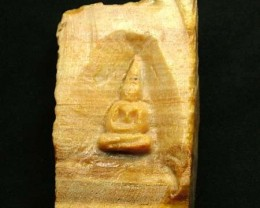 WOOD FOSSIL WITH BUDDAH  202.35 CTS [MX 7231]