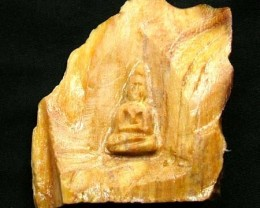 WOOD FOSSIL WITH BUDDAH  154.30 CTS [MX 7232]
