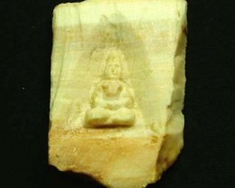 WOOD FOSSIL WITH BUDDAH 94.10 CTS [MX 7233]