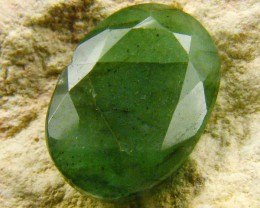 CERTIFIED BEAUTIFUL FACETED EMERALD   CTS  0432