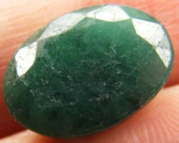 CERTIFIED BEAUTIFUL FACETED EMERALD   CTS  0428