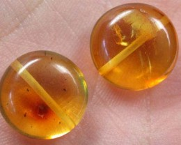 NATURAL AMBER BEADS 8.80CTS A236