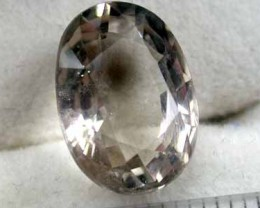 6.8 CTS NATURAL QUARTZOVAL SHAPED , UNTREATED FROM LAOS G430