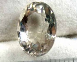 FREE/S 4.25 CTS NATURAL QUARTZ OVAL SHAPED,  FROM LAOS G432