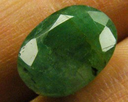 CERTIFIED BEAUTIFUL FACETED EMERALD   3.51CTS  0570