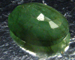 CERTIFIED BEAUTIFUL FACETED EMERALD   3.25CTS  0572