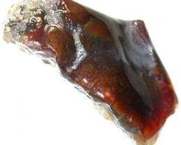 FIRE AGATE ROUGH FROM MEXICO 61.65 CTS [FR 220]