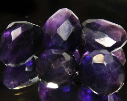 PARCEL AMETHYST FACETED BEADS  69  CTS ST 873