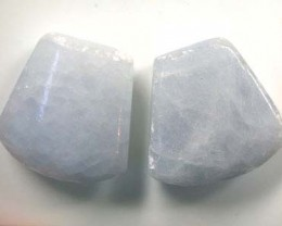 PAIR OF CHARCHYDNONY 37.2CTS G1759