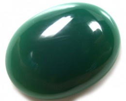 FREE SHIPPING NATURAL  N - GREEN ONYX 6.3CTS G1960