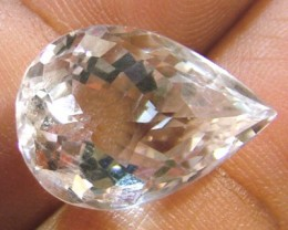 FACETED CLEAR CRYSTAL QUARTZ 9 CTS PG-580