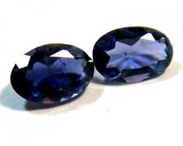 IOLITE FACETED STONE (PAIR) 0.70 CTS PG - 654