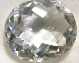 VVS1 FACETED CLEAR CRYSTAL QUARTZ 34.55 CTS PG-573