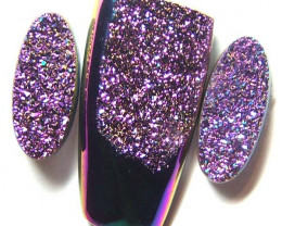 51 CTS (TBO) DRUSY BI-COLOUR  A7927