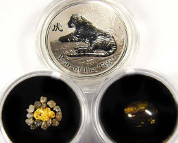 AUSTRALIAN TREASURES SERIES YEAR OF THE TIGER ATST  15 -200