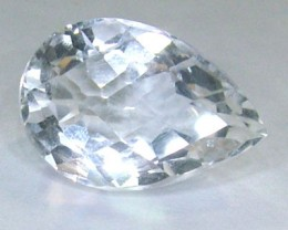 FACETED CLEAR CRYSTAL QUARTZ 12.45 CTS PG-566