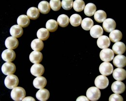 FRESH WATER PEARL STRAND-ROUNDS   9-10  MM  289.25 CTS PF792