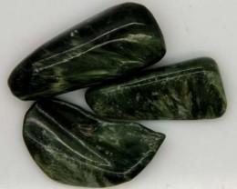GREEN SERAPHINITE 36 CTS ADG-382