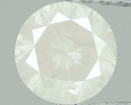 NATURAL-ICEWHITEDIAMOND-0.33CTW-1PCS-4.4MM-NORESERVE