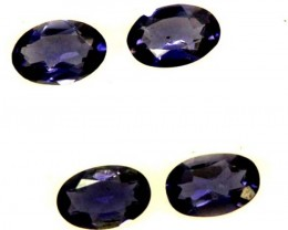 IOLITE FACETED STONE (2 PAIR) 1.40  CTS  PG-1298