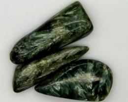 GREEN SERAPHINITE 26 CTS ADG-389