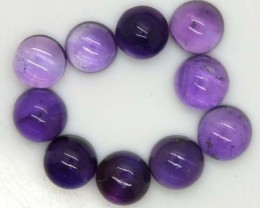 AMETHYST CABS (10 PC) 15.1 CTS CG-1214