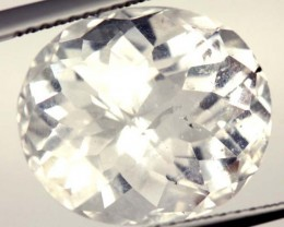 FACETED CLEAR CRYSTAL QUARTZ 9 CTS   PG-1485