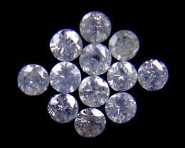 PARCEL 12 WHITE VS 2 POINTER DIAMONDS 0.439 CARATS OP1457