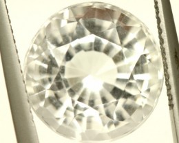 FACETED CLEAR CRYSTAL 6.70 QUARTZ CTS  PG-1412