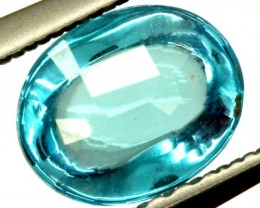 BLUE TOPAZ NATURAL FACETED 1.30 CTS PG-999