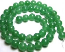 Lovely Green Aventurine Round Beads B174