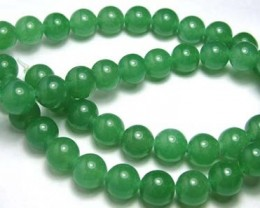 Lovely Green Aventurine Round Beads B179