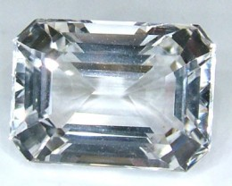 FACETED CLEAR CRYSTAL QUARTZ 9.85 CTS  PG-1470