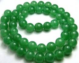 Lovely Green Aventurine Round Beads B181